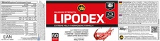 LIPODEX berry punch etiketa